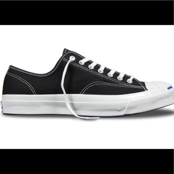 8accc124cc5070 Converse Shoes - Jack Purcell Converse Signature Black Sneakers NEW